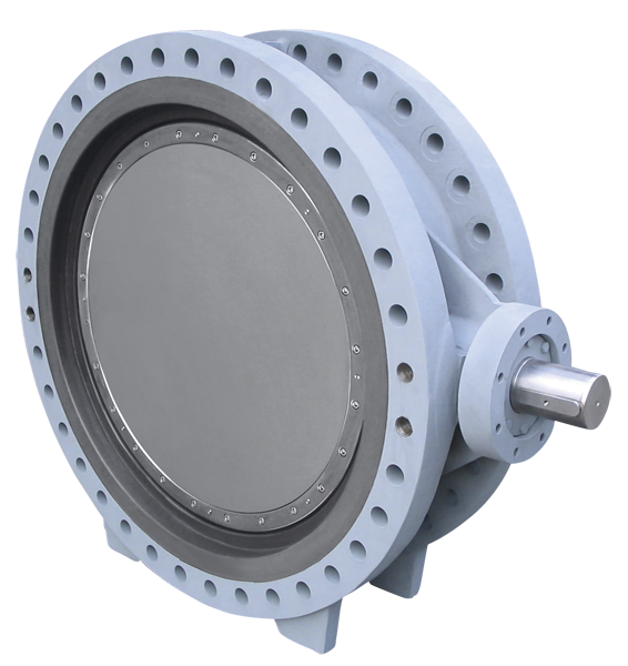 butterfly valve for cooling water